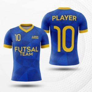Jersey Futsal biru