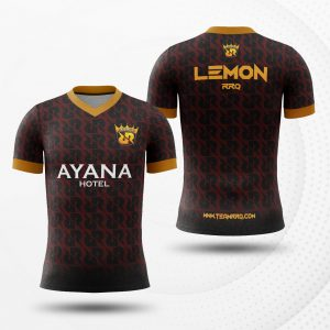 jersey gaming custom