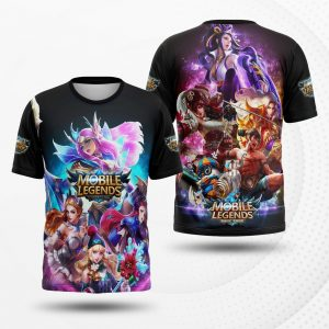kaos custom mobile legends